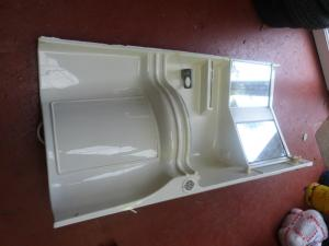 Caravan Motorhome Conversion Plastic Bathroom Unit with Taps REF CHALL2 image 1