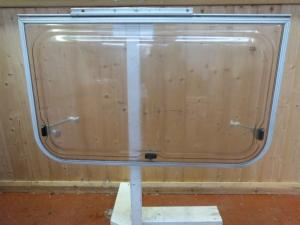Caravan Motorhome Conversion Side Polyplastic Window 880x430mm - REF CONWY02 image 1