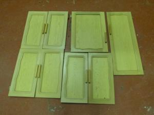 Caravan Motorhome Conversions 8 Piece Cupboard Door Set REF SALON image 1