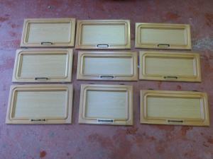 Caravan Motorhome Conversions 9 Piece Jubilee Cupboard Door Set REF DONCSTAT image 1