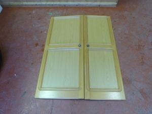 Caravan Motorhome Conversions wardrobe doors REF DONCSTAT image 1