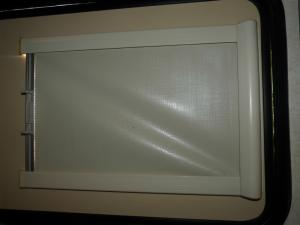 Caravan Motorhome Door Blackout Blind - 380mm x 560mm image 1