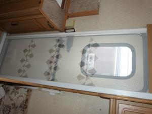 Caravan Motorhome Horrex Roller Style Door Fly Screen image 1