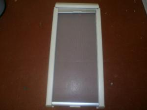 Caravan Motorhome Seitz Window Blackout Blind 410mm x 880mm REF ARGENT image 1