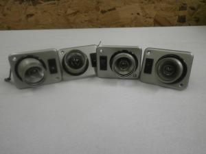 Caravan Motorhome Set Of Four Spot Lights image 1