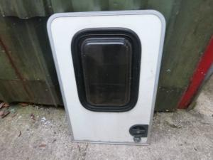 Caravan Motorhome Stable Top Half  Entry Door With Window REF CONWY image 1