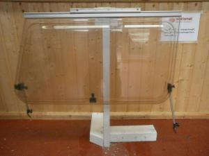Caravan Nearside Polyplastic Window- 880mm x 580mm x 1020mm conversions image 1