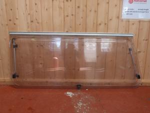 Caravan Offside Polyplastic Window- 1245mm x 570mm x 1360mm image 1