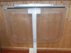 Caravan Polyplastic Kitchen Window - 650mm x 430mm motorhome REF01 image 1