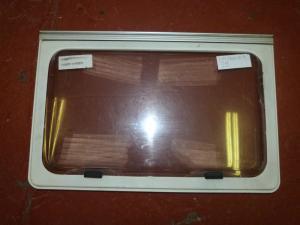 Caravan Polyplastic Kitchen Window - 655mm x 420mm REF01 image 1