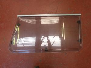 Caravan Polyplastic Oblong Nearside Window 1045 x 620 x 1200mm Conversion image 1