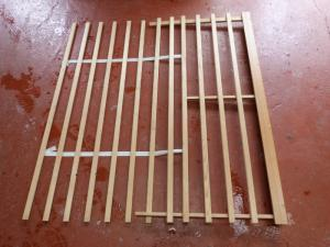 Caravan Pull Out Slats 1350mm x 1260mm motorhome, conversion image 1