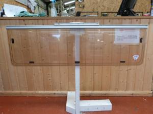 Caravan Rear Polyplastic Window 1255mm x 370mm motorhome conversions image 1