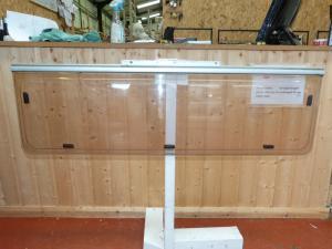 Caravan Rear Polyplastic Window- 1255mm x 370mm conversions image 1