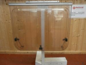 Caravan Rear Polyplastic Window- 750mm x 630mm conversions image 1