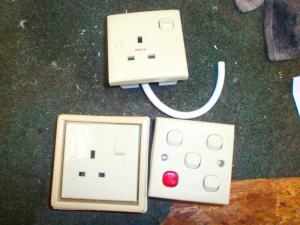 Caravan - (Used) - Clipsal Switches Set of 3 image 1