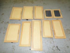 Caravan - (Used) Cupboard Doors Set of 10 image 1