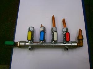 Caravan (Used) Gas Tap - 4 Valve image 1