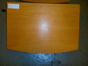 Caravan - (Used) Side Table single leg 600mm x 415mm image 1