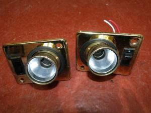 Caravan 2 12V Spot Lights campervan motorhome boat conversion image 1