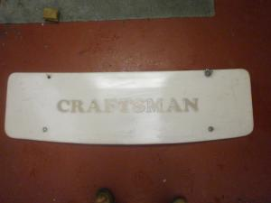 Craftsman Caravan Front Gas Locker Door image 1