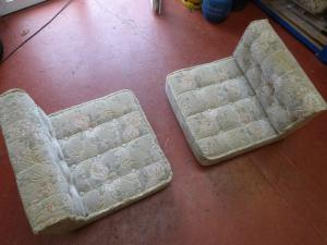 Cushion Set Seats 4 Piece Caravan Boat Conversion Motorhome REF CONWY image 1