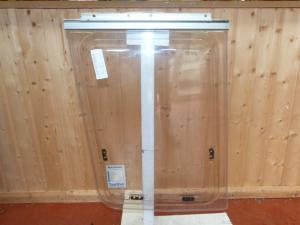 Front Offside Polyplastic Caravan Window - 500mm x 690mm x 600mm image 1