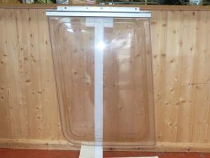 Front Offside Polyplastic Caravan Window - 500mm x 690mm x 600mm REF01 image 1