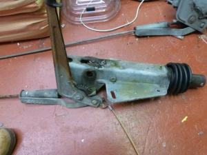 Hitch assembly With Handbreak and coupling for Caravan Conversions Trailors image 1