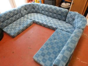 Hobby Caravan Blue Eight Piece Cushion Set image 1