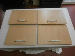Luna Caravan Motorhome Boat Conversions Cupboard Door Set of 7 image 1