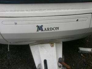 Maradon Silver Star Caravan Front Gas Locker Door image 1