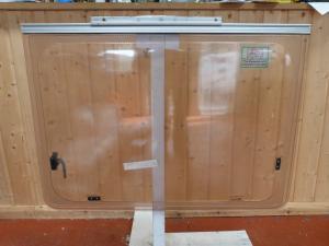 Polyplastic Caravan Window - 875mm x 630mm Conversion, Motorhome image 1