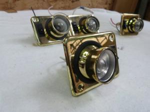 Set Of Four Caravan MotorHome Boat Spot Lights REF:CHAL2 image 1