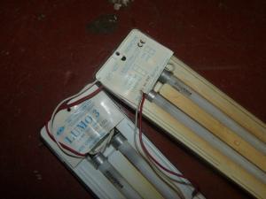 Set of Two LUMO 3 Caravan Motorhome Boat Strip Lights REF WEIP image 1