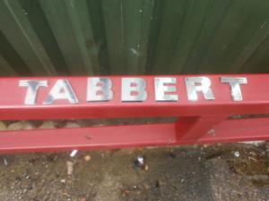 Tabbert 2007 onwards Original Caravan External Lettering image 1