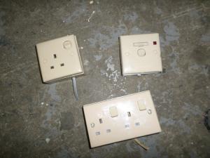 Used Caravan - Clipsal Units Set of Three image 1