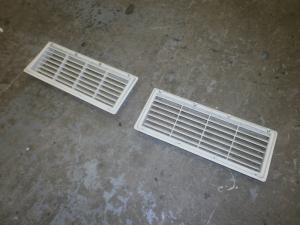 Used Caravan Exterior Fridge Vents x 2 image 1
