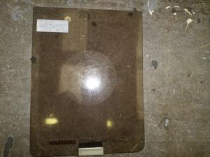 Used Caravan - Glass Hob Lid 325mm x 425mm image 1