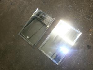 Used Caravan - Pair of Bathroom Mirror Doors image 1