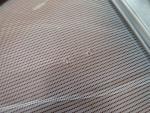 Caravan Motorhome Silver Remis Roller Style Door Fly Screen image 4